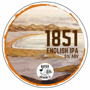 1851 English IPA Tap Badge