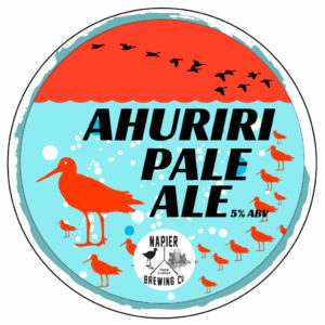 Ahuriri Pale Ale Tap Badge